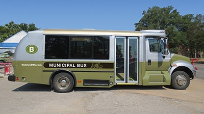 Municipal Bus - Bastrop