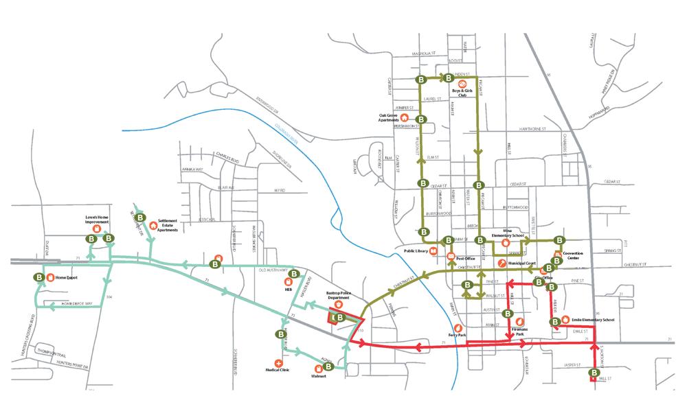 Municipal Bus Bastrop Capital Area Rural Transportation System
